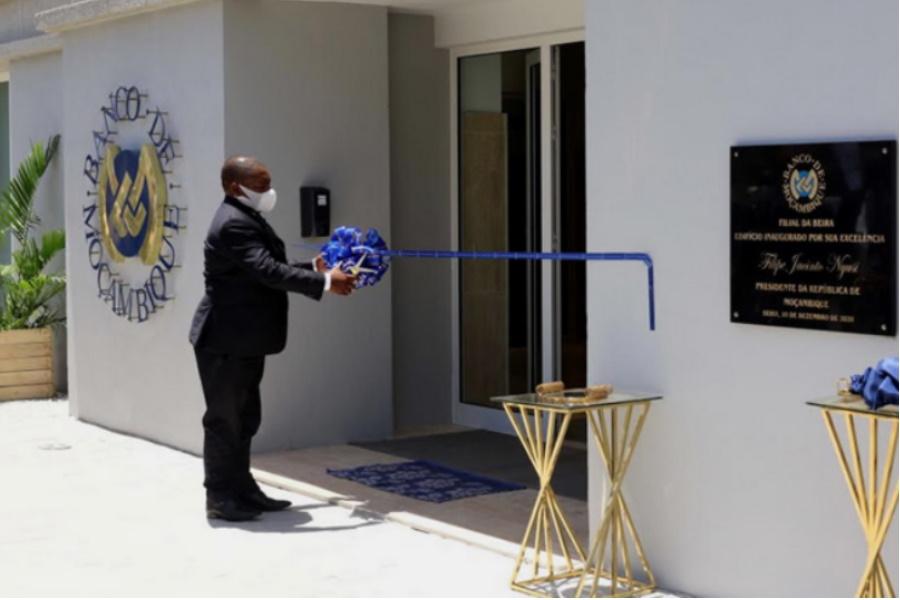PR inaugura filial do Banco de Moçambique na Beira