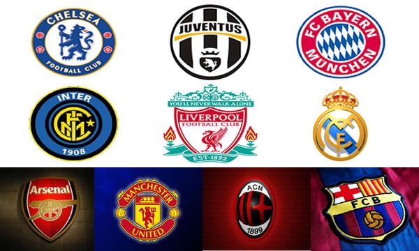 Os clubes de futebol mais ricos do mundo
