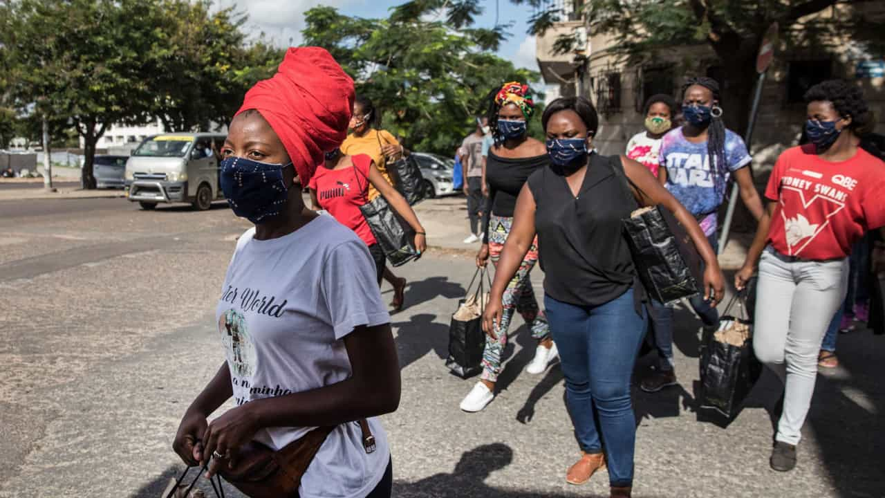Moçambique anuncia mais cinco óbitos e ultrapassa 25.000 casos
