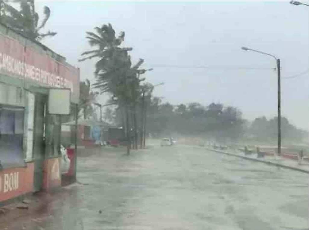 O Instituto Nacional de Meteorologia diz que a tempestade tropical Eloise já está no Canal de Moçambique