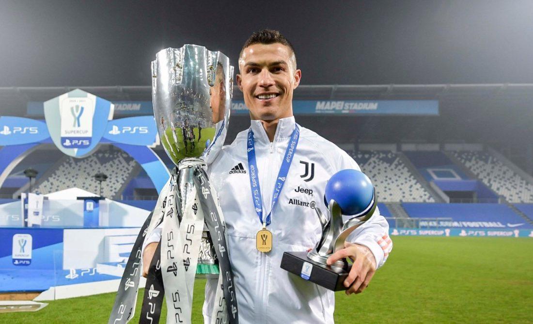 Cristiano Ronaldo conquista Supertaça italiana com a Juventus