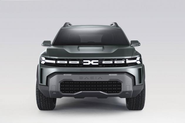Novo Dacia Bigster Concept