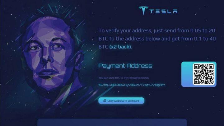 Burla no Twitter usa Elon Musk para roubar 587 mil dólares em Bitcoin