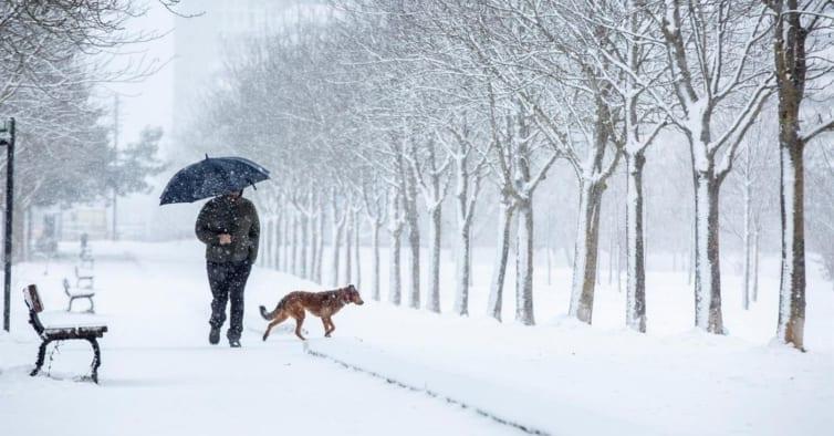 Espanha com temperaturas mínimas extremas de até 16 graus abaixo de zero