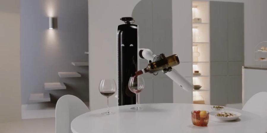 Samsung: A insígnia sul-coreana desenvolveu um robô capaz de servir bebidas em casa ou de apanhar a roupa lavada