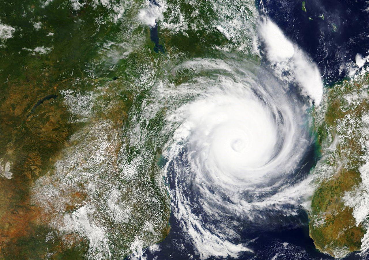 """A tempestade moderada """"Eloise"""" evoluiu para tempestade tropical severa"""