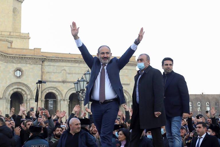 Primeiro-ministro da Armênia denuncia tentativa de golpe militar