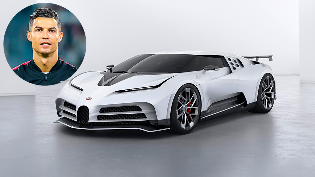 Bugatti Centodieci: Cristiano Ronaldo vai ser um dos 10 únicos donos do novo Bugatti