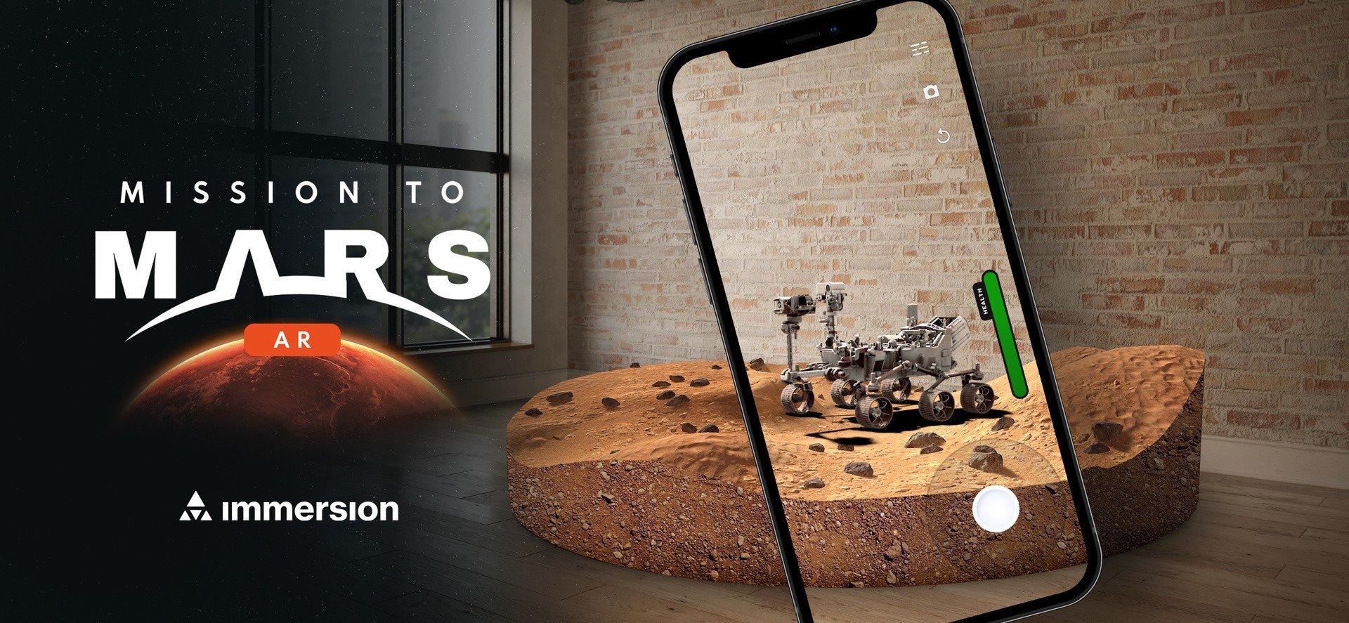 """Quer pôr o rover Perseverance da NASA a """"passear"""" pela sala de estar? Com a Mission to Mars AR é possível"""