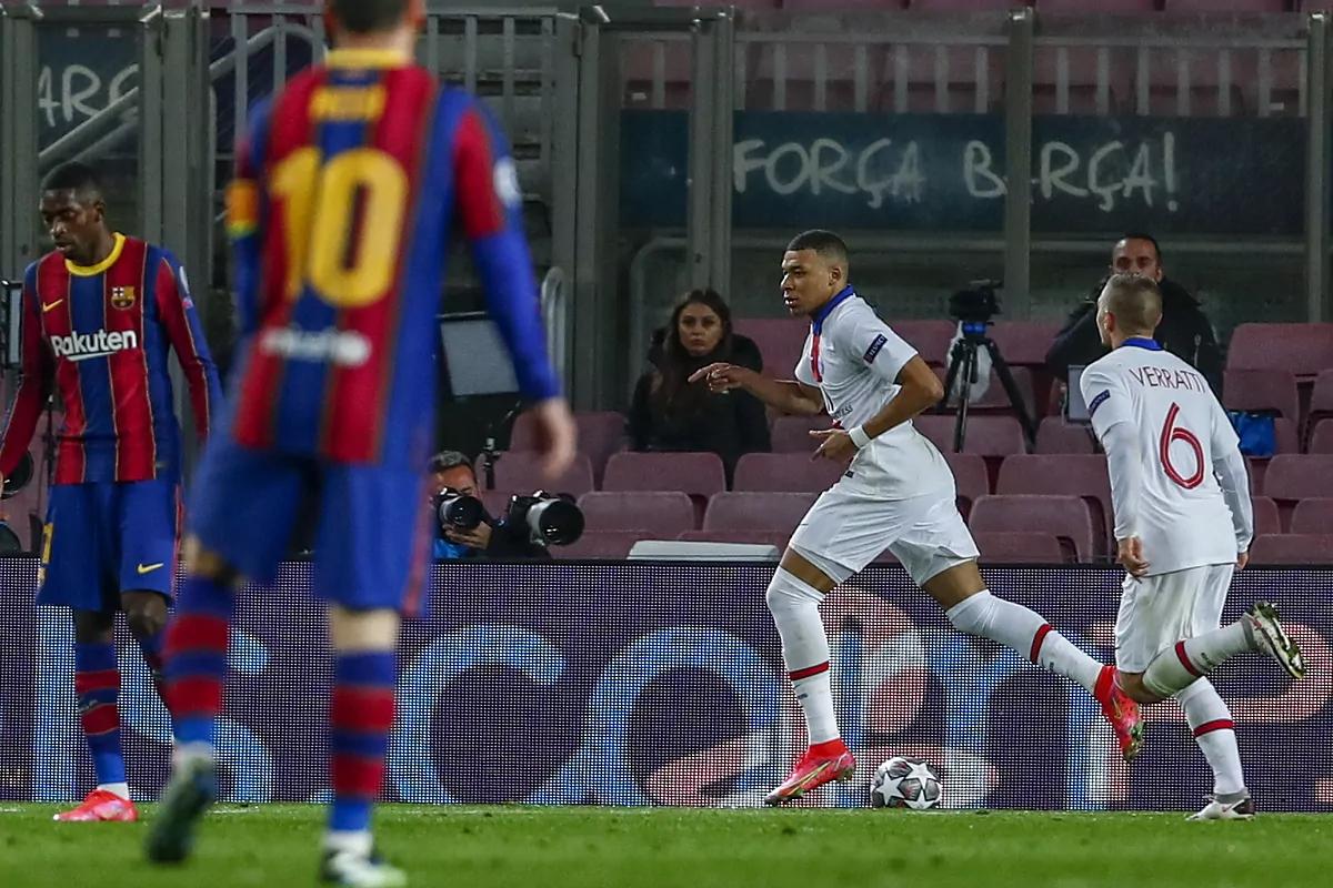 Mbappé hat trick – PSG humilhou o barcelona!