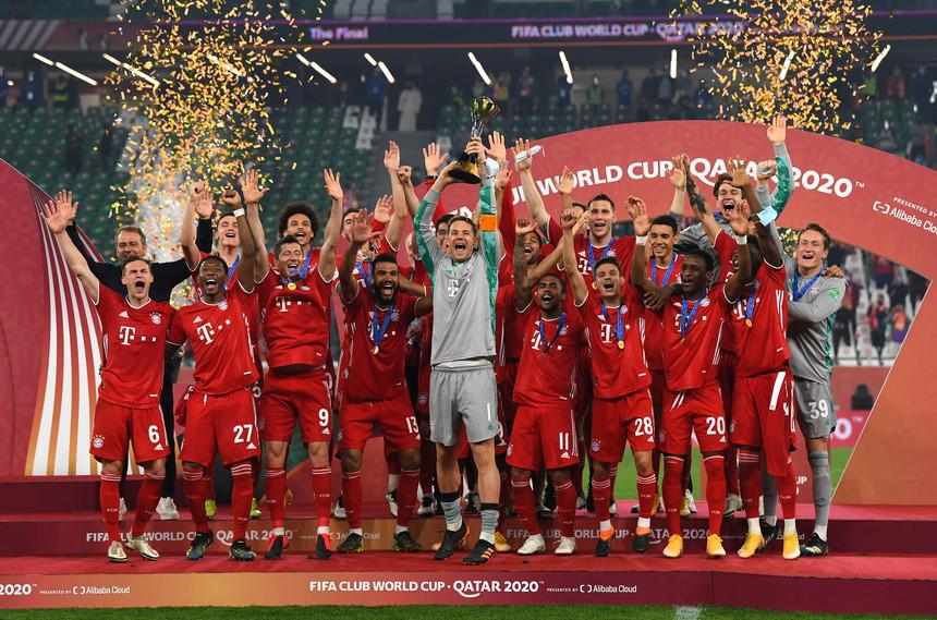 BAYERN iguala o recorde do Barcelona, em 2009