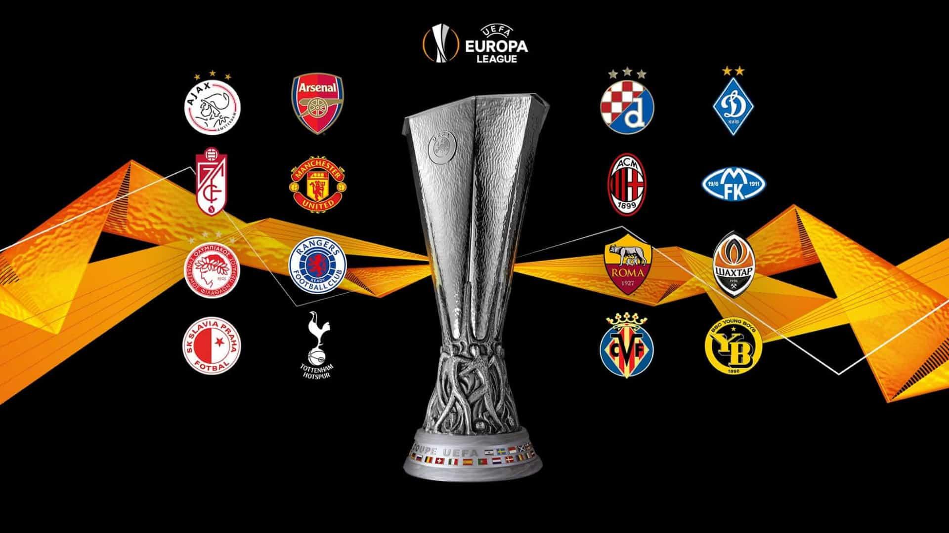 Todos os duelos dos 'oitavos' da Liga Europa
