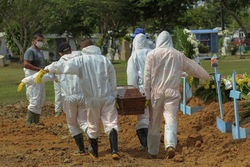 Brasil : Segundo dia com mais mortes desde a chegada da Covid-19 ao Brasil
