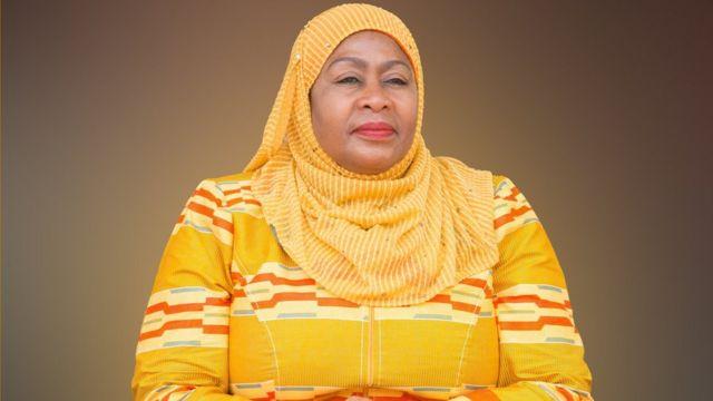 Samia Hassan, a primeira presidente da história da Tanzânia