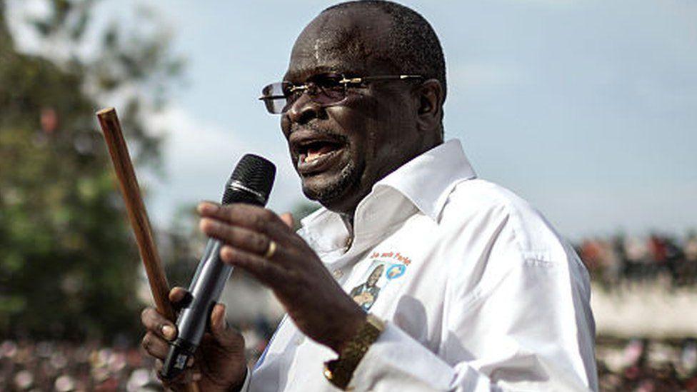 """O candidato presidencial do Congo """"morreu no avião para França"""