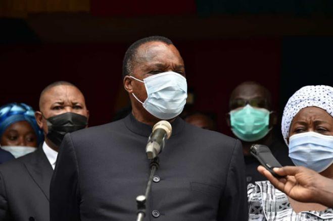 Dénis Sassou Nguesso reeleito Presidente do Congo