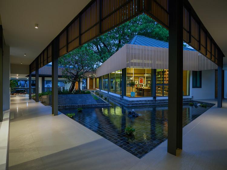 Uma casa de design espetacular na Tailândia