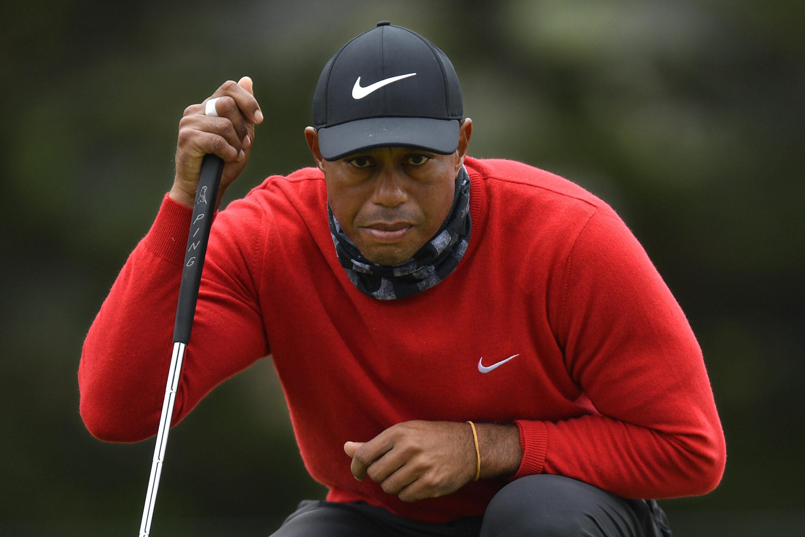 Tiger Woods saiu do hospital