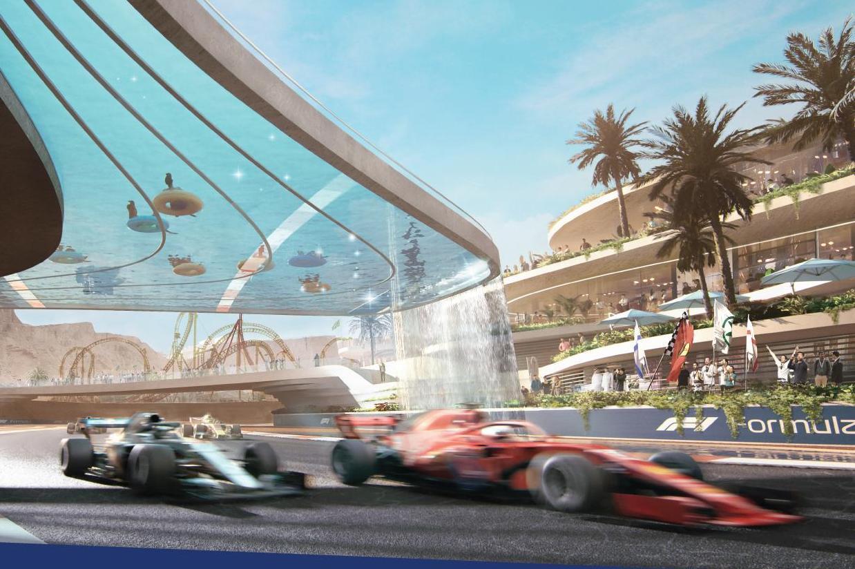 F1: Arábia Saudita revela traçado do circuito de Jeddah, a pista de rua mais rápida de 2021