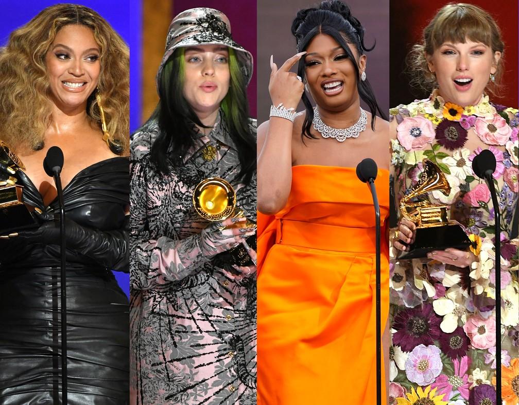 Grammys: uma cerimónia que acabou por ser dominada pelas mulheres