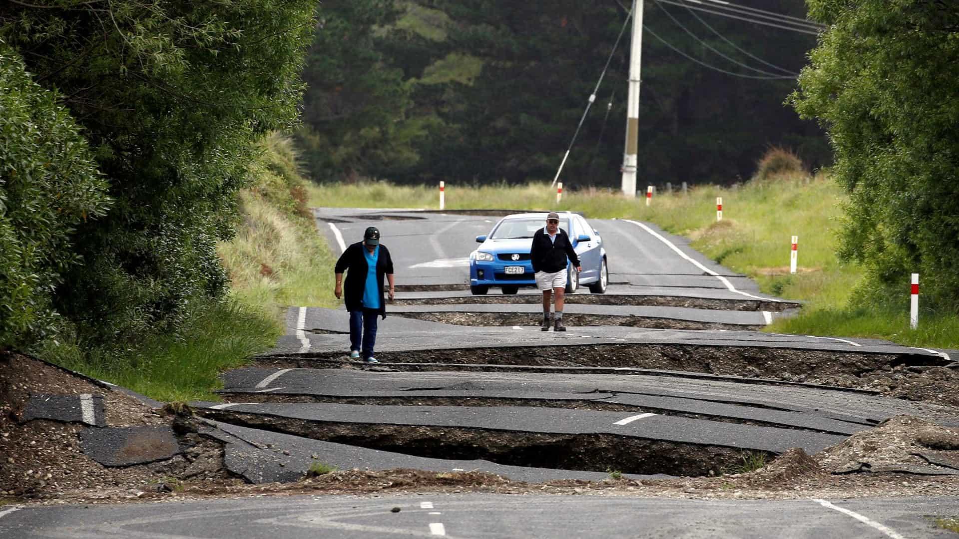 Mais um alerta de tsunami na Nova Zelândia após  3 sismos de magnitude 8,1
