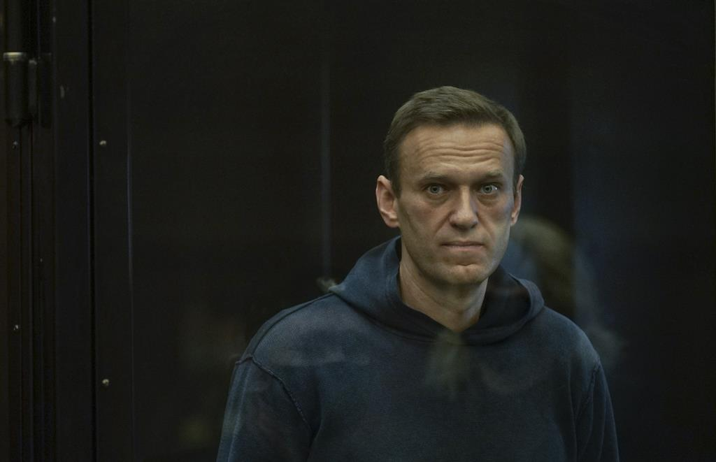Alexei Navalny chegou a um estabelecimento dos serviços penitenciários russos