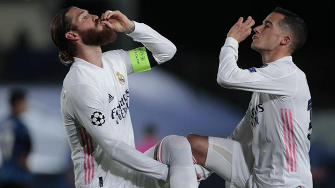 Real Madrid e Man City seguem em prova na Liga dos Campeões