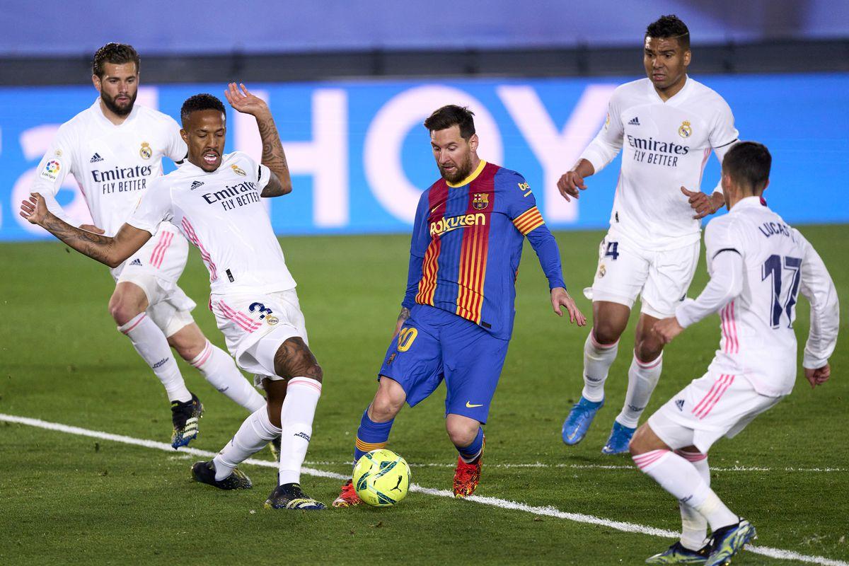 Real Madrid vence Barcelona e deixa liga espanhola ao rubro