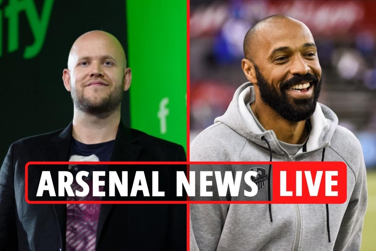 Bergkamp, Henry e Vieira associam-se ao dono do Spotify para aquisição do Arsenal