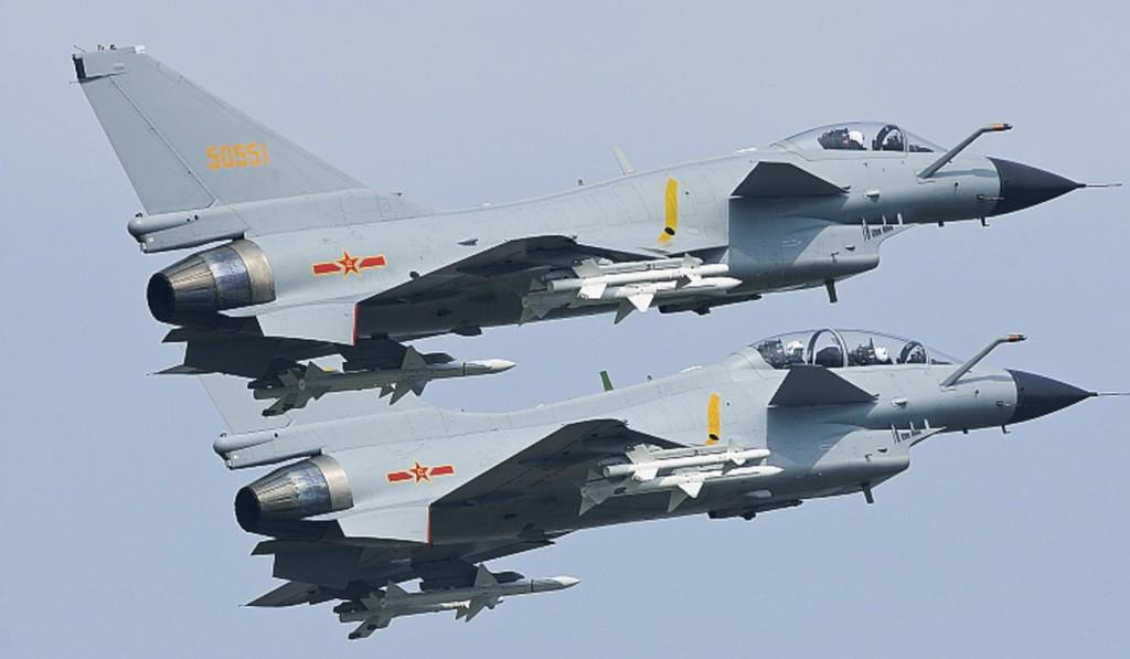 China avança sobre espaço aéreo de Taiwan