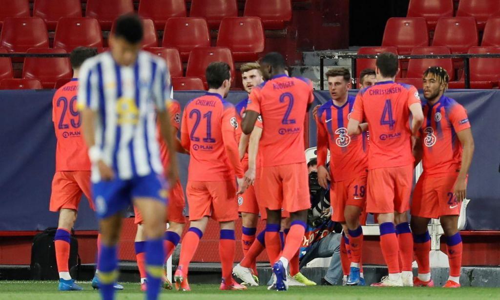FC Porto derrotado (0-2) pelo Chelsea