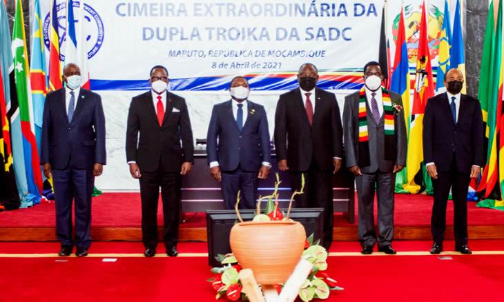 """SADC vai enviar para Moçambique uma equipa técnica para avaliar apoio contra o """"terrorismo"""""""