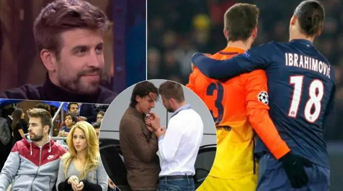 A história por trás da controversa fotografia de Zlatan Ibrahimovic e Gerard Pique