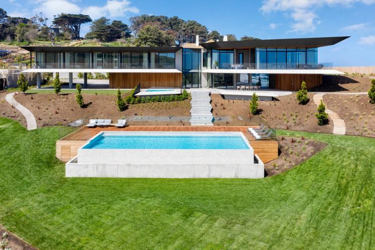 Uma impressionante mansão com vista para o mar na Austrália