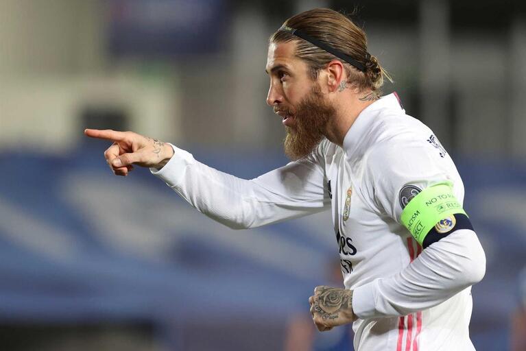 Real Madrid: Sergio Ramos está com covid-19