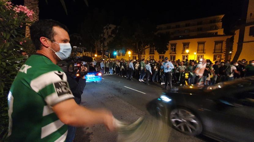 As reações e os parabéns ao título do Sporting de Figo a Bruno Fernandes, Ronaldo e Dona Dolores