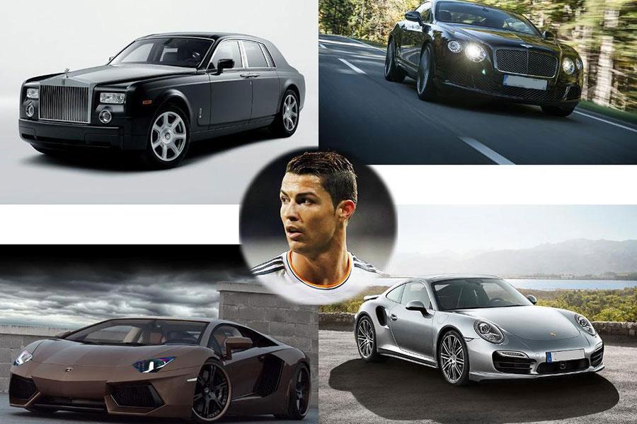 Desporto: Já se sabe para onde foram os carros de Cristiano Ronaldo