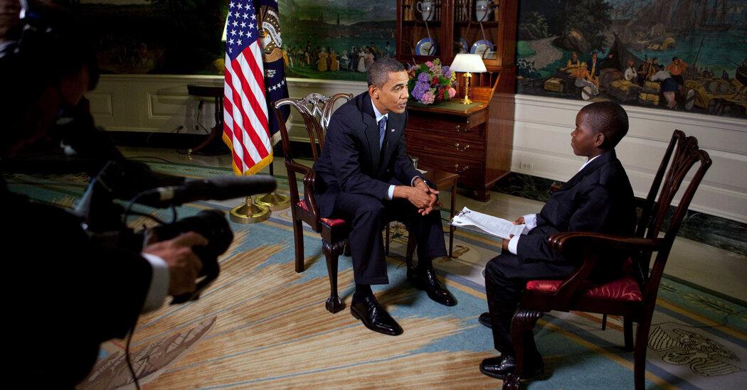 Morreu o jovem que aos 11 anos entrevistou Obama na Casa Branca
