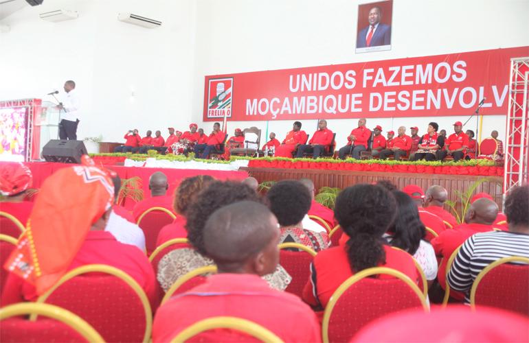 Moçambique: Comité central da Frelimo reúne-se hoje e domingo na cidade  da Matola