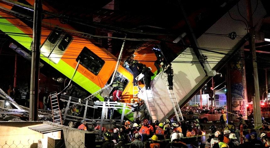 Cidade do México:  pelo menos 15 mortos no colapsa de um Viaduto