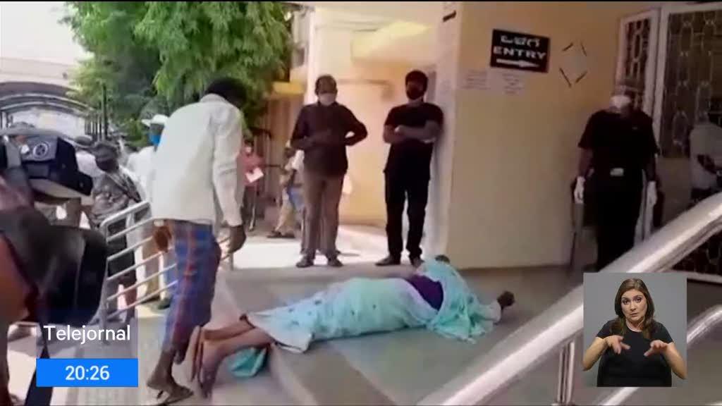 Índia:  Há doentes a fugir dos hospitais. Situação na Índia caótica