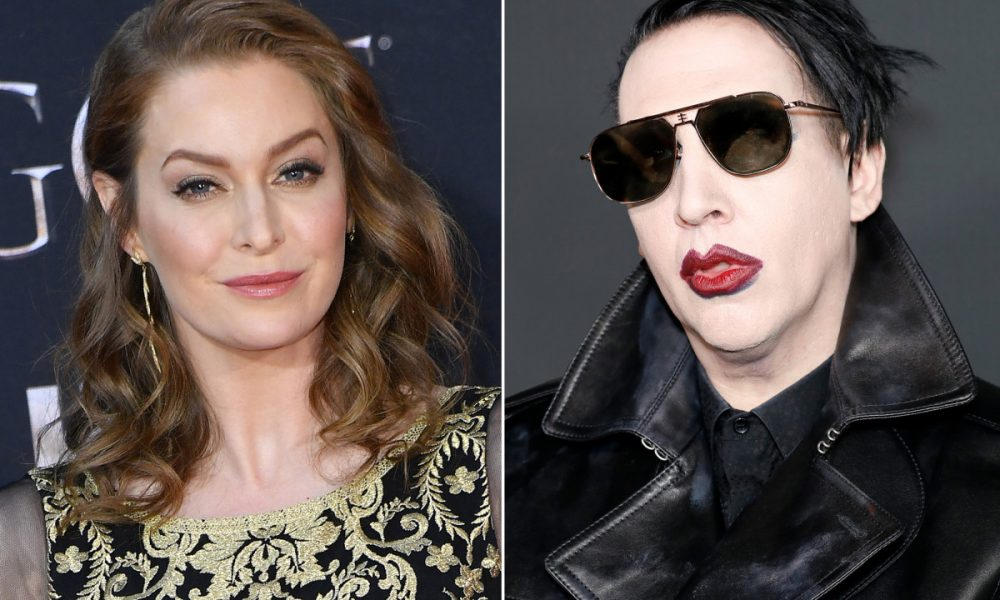 Marilyn Manson processado por agressão sexual contra atriz Esme Bianco