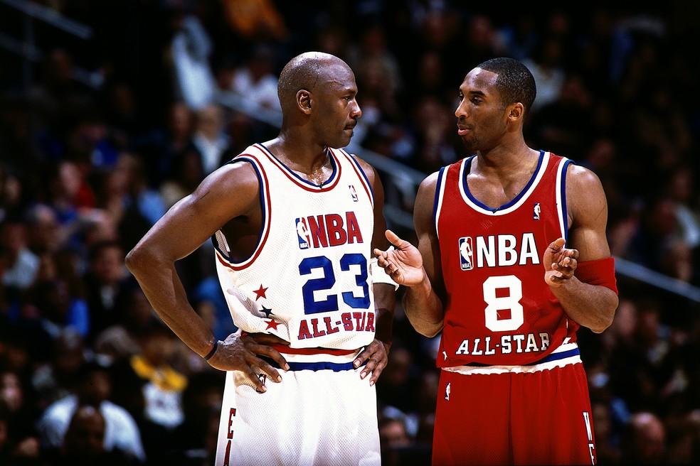 Michael Jordan revela últimas mensagens trocadas com Kobe Bryant