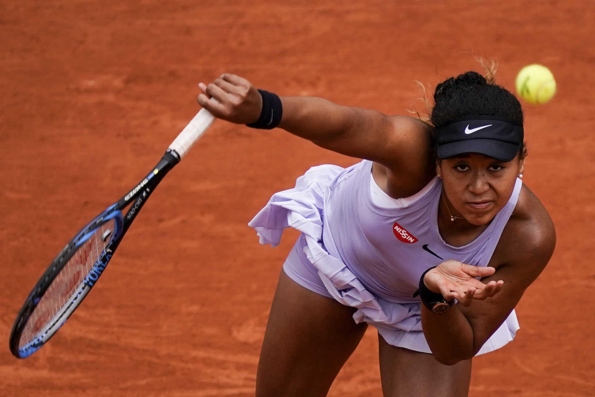 Tenis:  Naomi Osaka foi multada e arrisca exclusão de Roland Garros