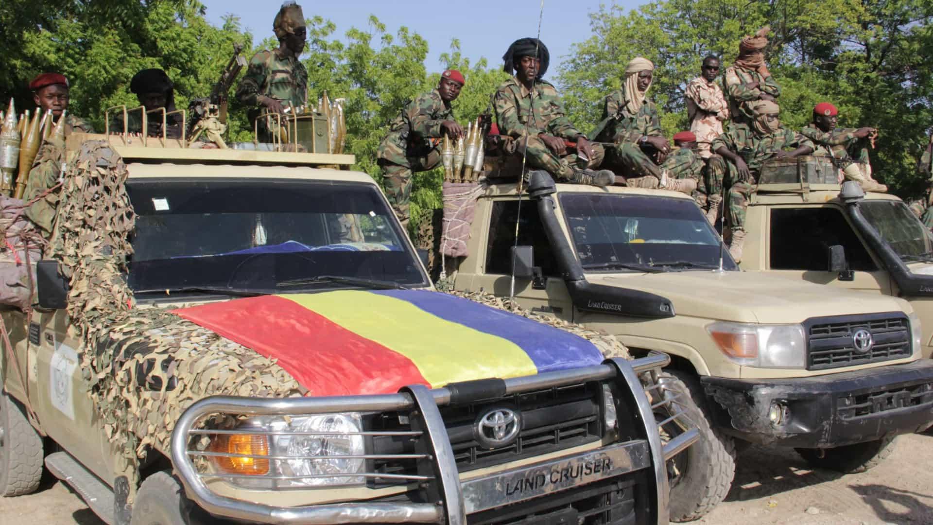Militares do Chade afirmam ter 'derrotado rebeldes' após morte de Déby