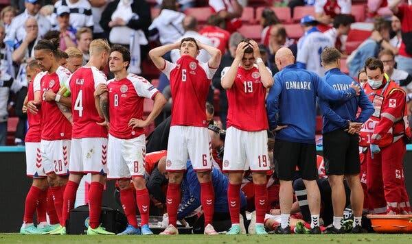 Famosos: Christian Eriksen, famosos apoiam jogador dinamarquês