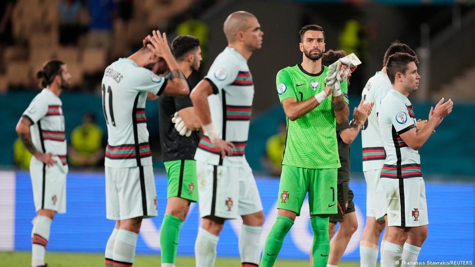 Euro2020: Portugal eliminado do Euro2020