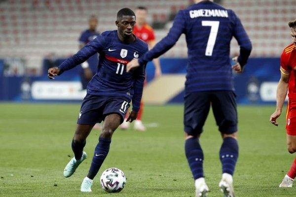 Euro2020: Dembélé submetido a exames a lesão num joelho