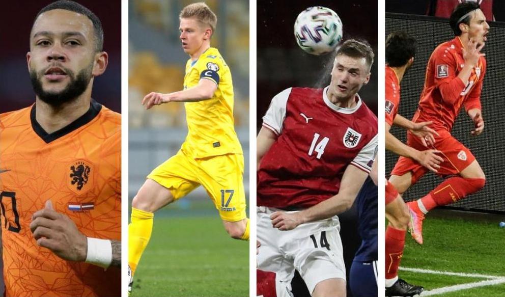 Euro2020: Holanda garantiu o primeiro lugar e Macedónia do Norte é a primeira seleção eliminada