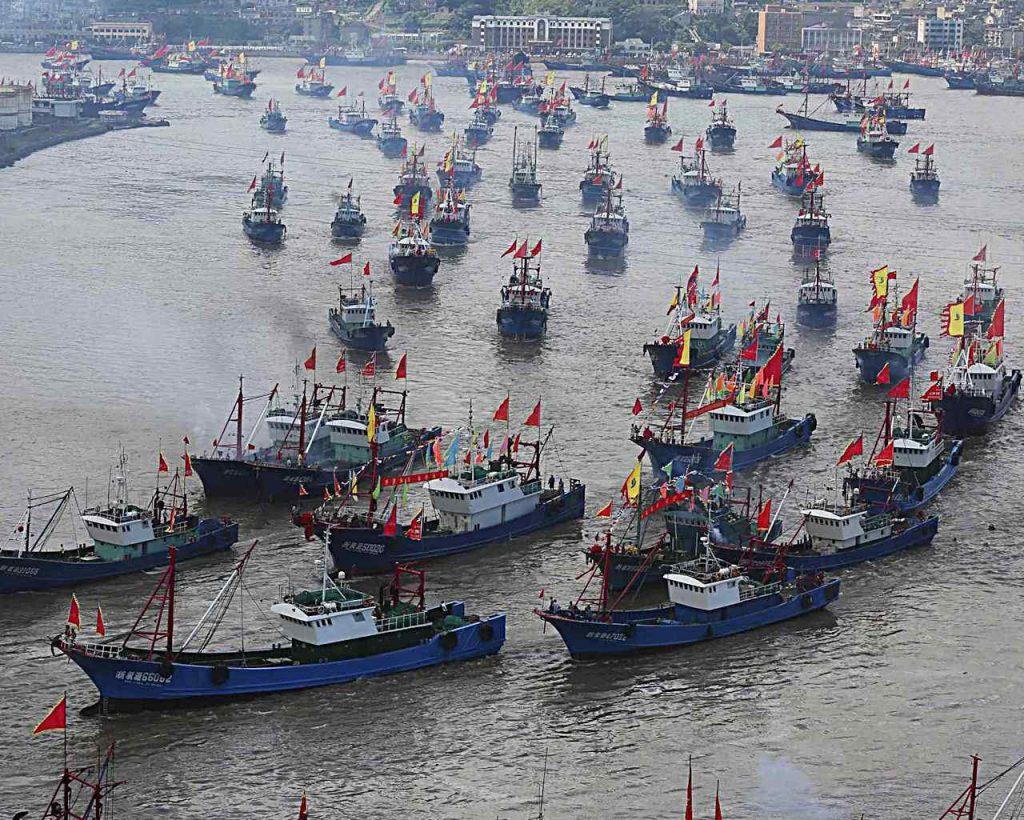 """Asia: """"Nenhum país pratica mais pesca ilegal, não declarada e não regulamentada que a China"""""""